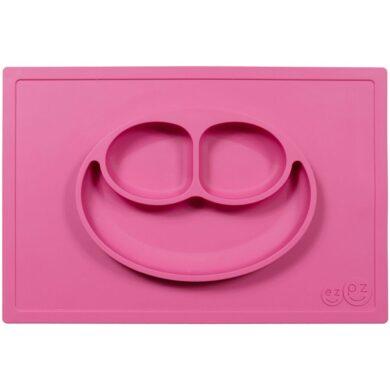 Ezpz Εκπαιδευτικό πιάτο και δίσκος σιλικόνης σε ροζ